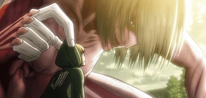 Attack on Titan – Anime Movie Teil 1: Feuerroter Pfeil und Bogen